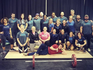 CHFP Weightlifting shows up BIG at NOVA Open
