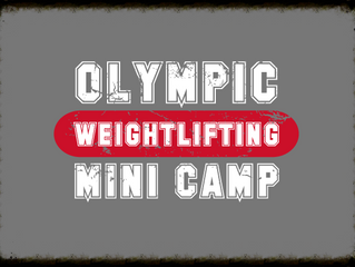 2015 Olympic Weightlifting Mini Camp Set for May 2-3
