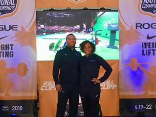 CHFP Athletes Brown, Elam excel at University/U25 Nationals