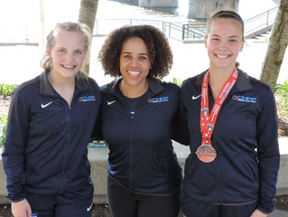 Youth Athletes collect Medals and Personal Records at Youth Nationals
