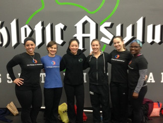 CHFP Weightlifting Competes at Baltimore Open