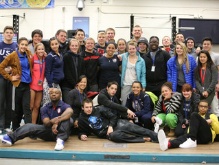 Heads Slaughter Attends USAW Youth/Junior Winter Camp