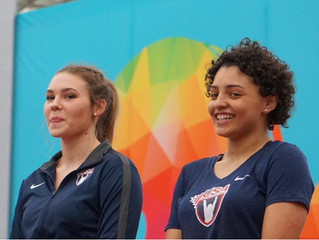 Owens Brings Home Medals at First International Championships