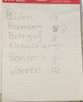 Mock Primary Election 2020 - March 1, 2020