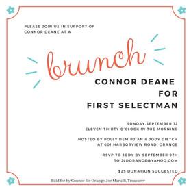 Support Connor Deane - September 12