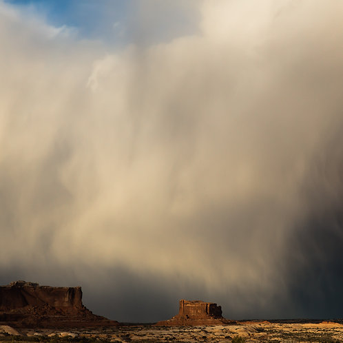 Utah / Outside of Moab. Storm Clouds