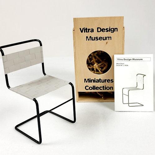 Mart Stam, Stuhl W1 Chair Miniature