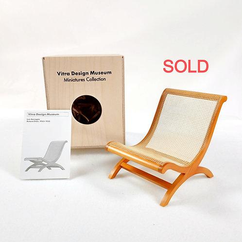 Luis Barragán Butaca Chair Miniature