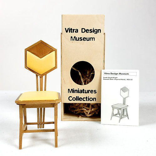 FLW Peacock Chair Miniature