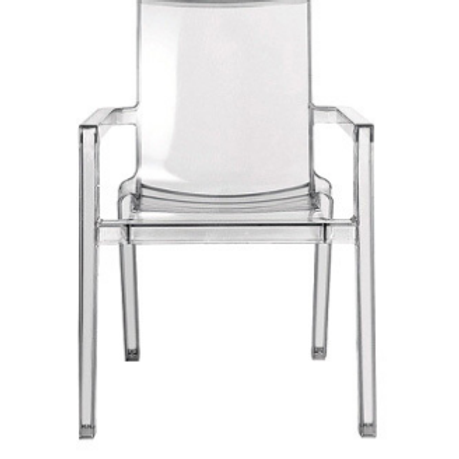 Deauville Clear Armchairs by Christopher Pillet