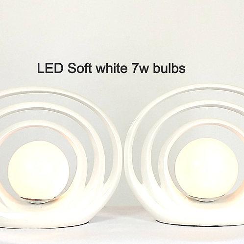 MidCentury Soft-Atomic Lamps