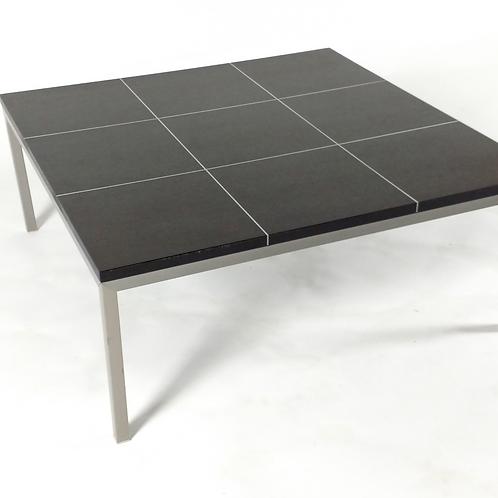 Bross Walnut & Steel Coffee table