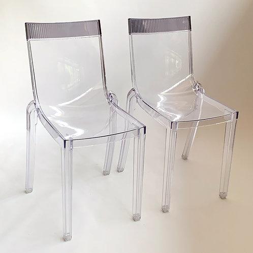 Hi-Cut Acrylic Chairs