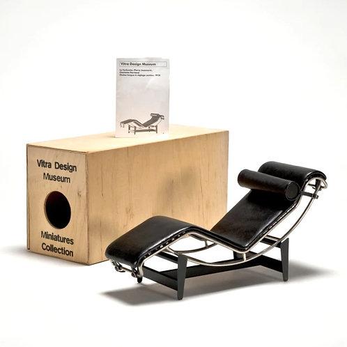 Miniature Le Corbusier Chaise Lounge 1928