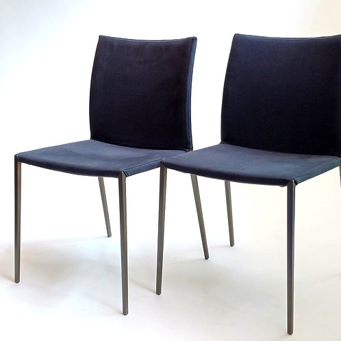 Lia Graphite Chairs. Set
