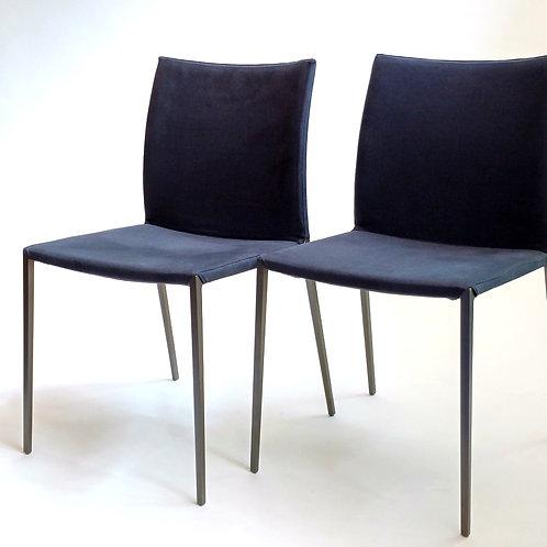 Lia Graphite Chairs. Set