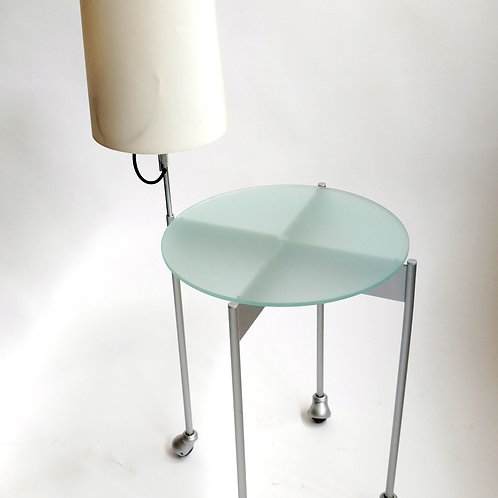 Frosted Side tables