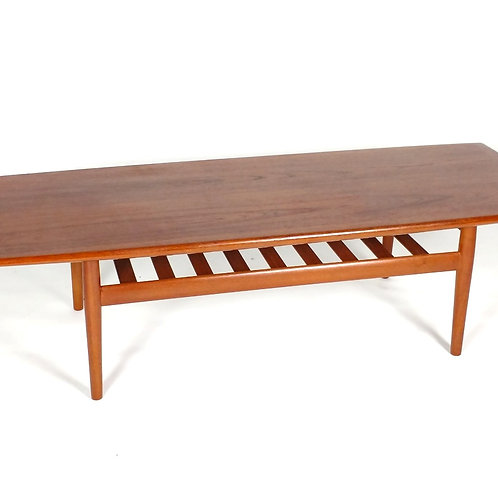 Grete Jalk Coffee Table. Solid Teak
