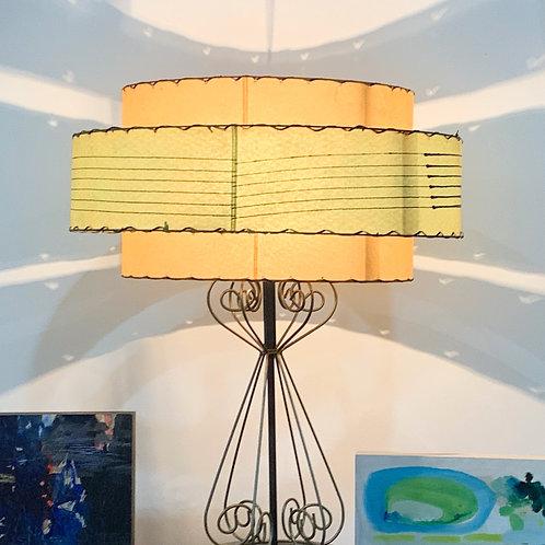 3-tier MCM Lamp & Shade