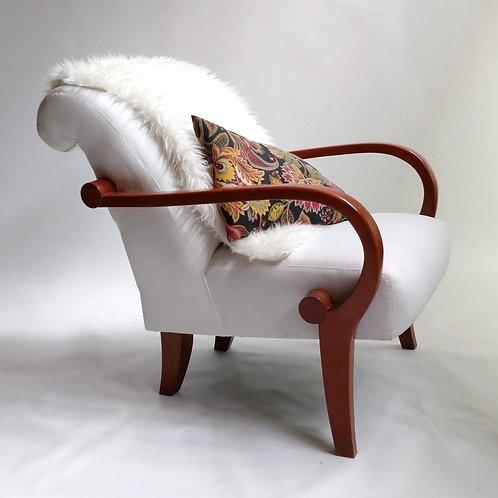 Panama White Easy Chair