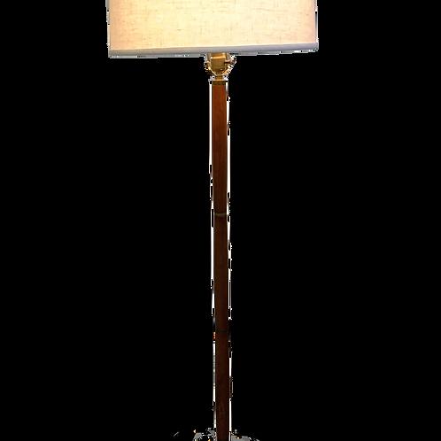 Teak MCM Floor Lamp