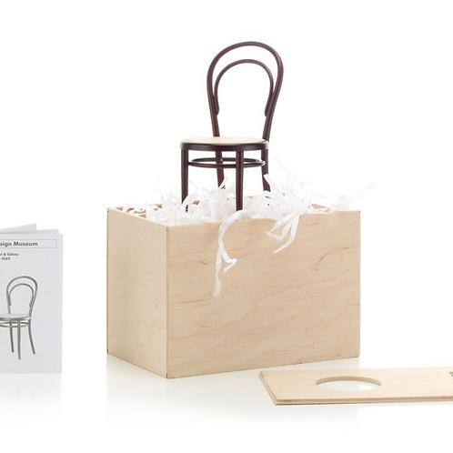 Gebruder Kohn Thonet No.14 chair Miniature