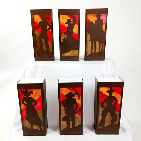 Western Sconces. One-of-Kind. Sold Individually