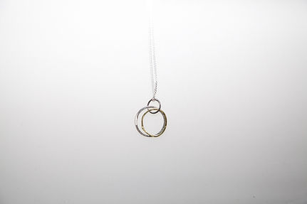 necklace 1 woche with rings