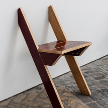 Hanging chair, 2017 - 2020