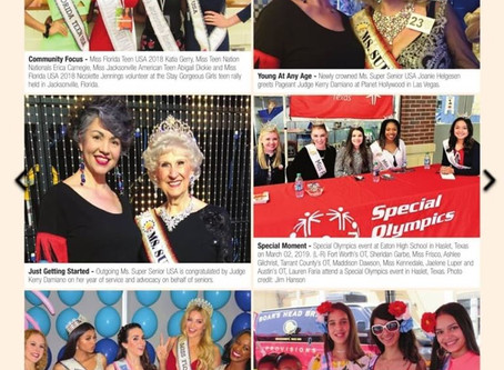 Magazine Feature: Pageantry Magazine People Watch and Pageantry Patter