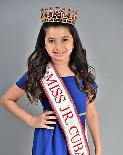 Miss Jr. Cuba U.S. 2020, Brielle Trujillo