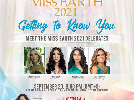 Miss Earth Cuba 2021 Getting to know you