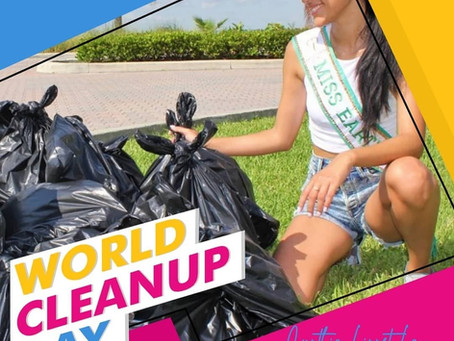 Miss Earth Cuba 2021 Featured in World Clean up Day