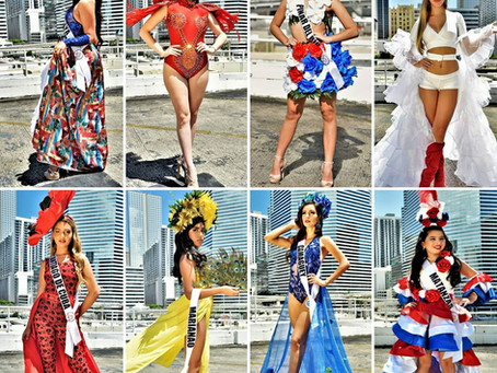 Miss Cuba US 2020 Competencia Traje Tipico Nacional Moda Creativa