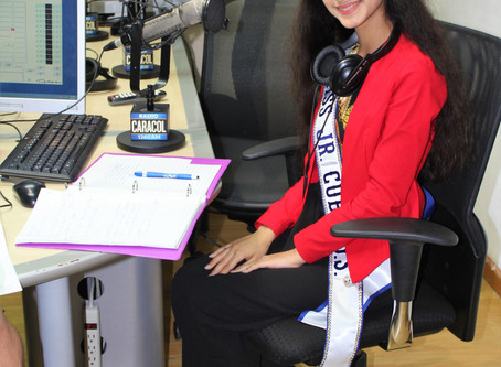 Media Tour: Radio Caracol Interview Grupo Escenas