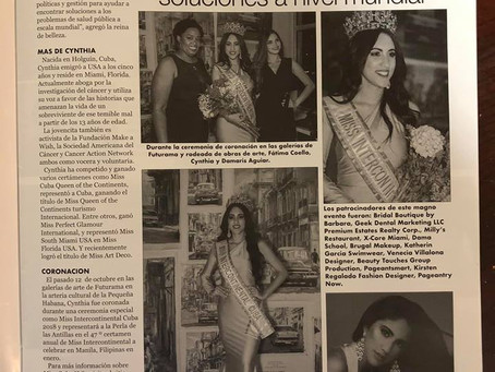 Magazine Feature: Revista Carteles