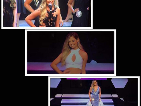 Veronica Delgado Top 15 en Miss Florida Teen USA 2020