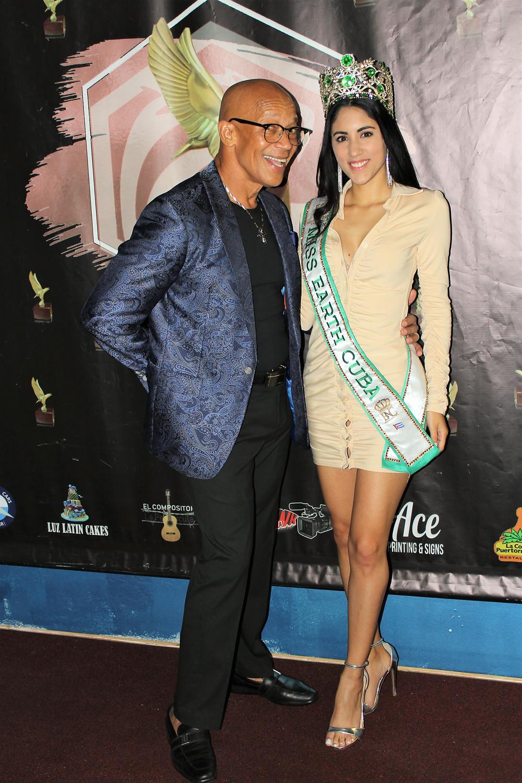 Miss Earth Cuba 2021, Cynthia Linnet Lau con Arky Castro en ArkyHawk TV