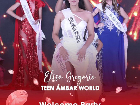 Welcome Party Teen Ambar World