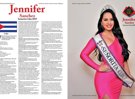 Magazine Feature: World Class Beauty Queens of North America Magazine