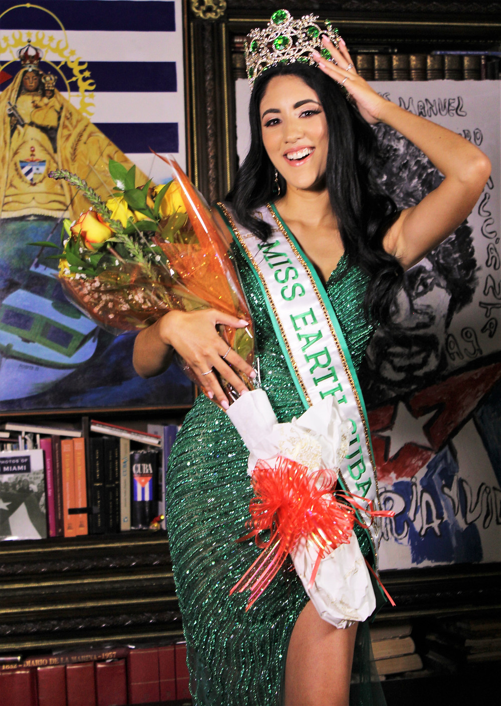 Cynthia Linnet Lau crowned as Miss Earth Cuba 2021