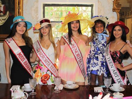 Miss Cuba U.S. first annual Tea Party