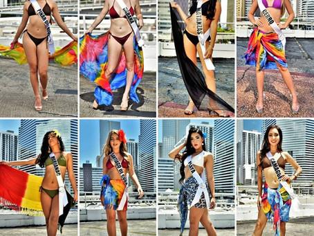 Miss Cuba US 2020 Competencia en Traje de Baño
