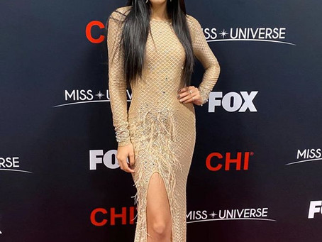 Cynthia Linnet Lau at Miss Universe