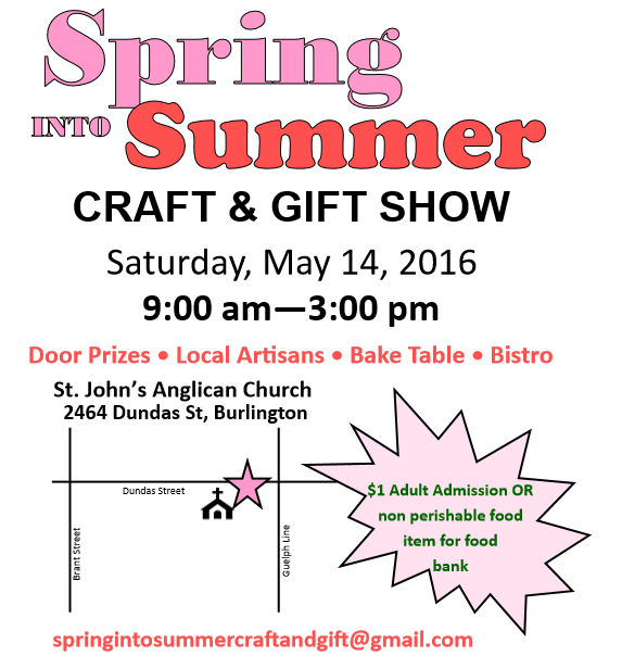 Spring into Summer Show Poster