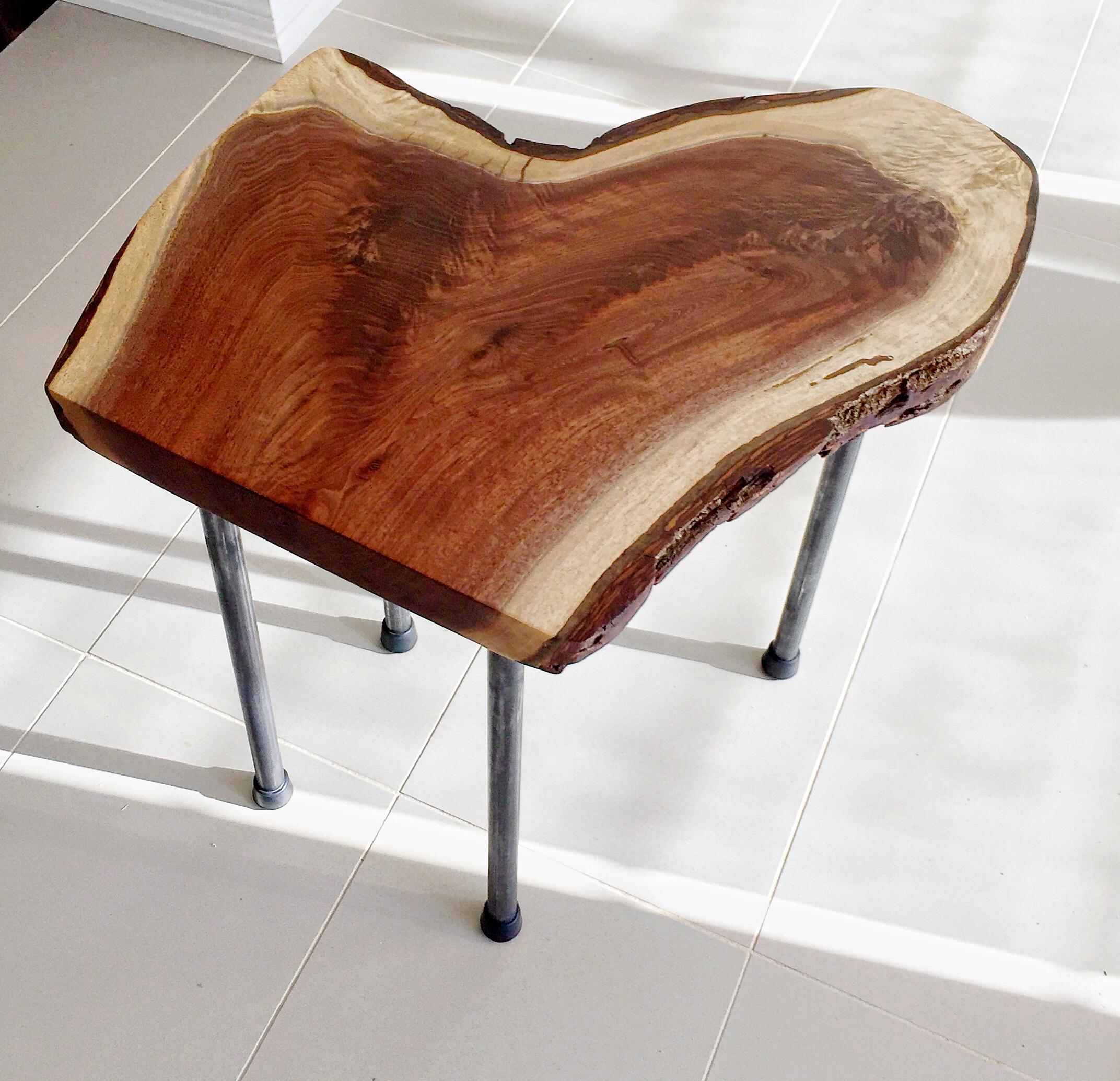 Walnut Bedroom End Table