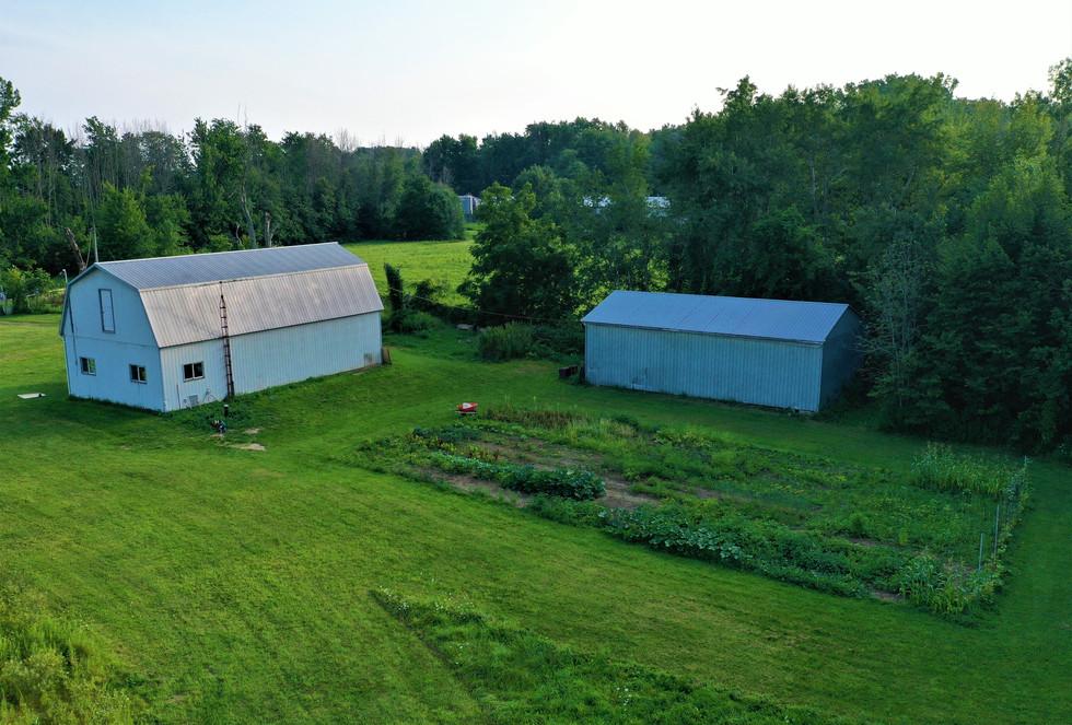 Barns and Garden 2021