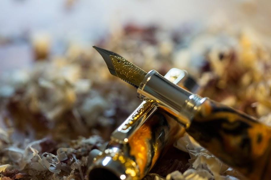 Tiger Fountain Pen