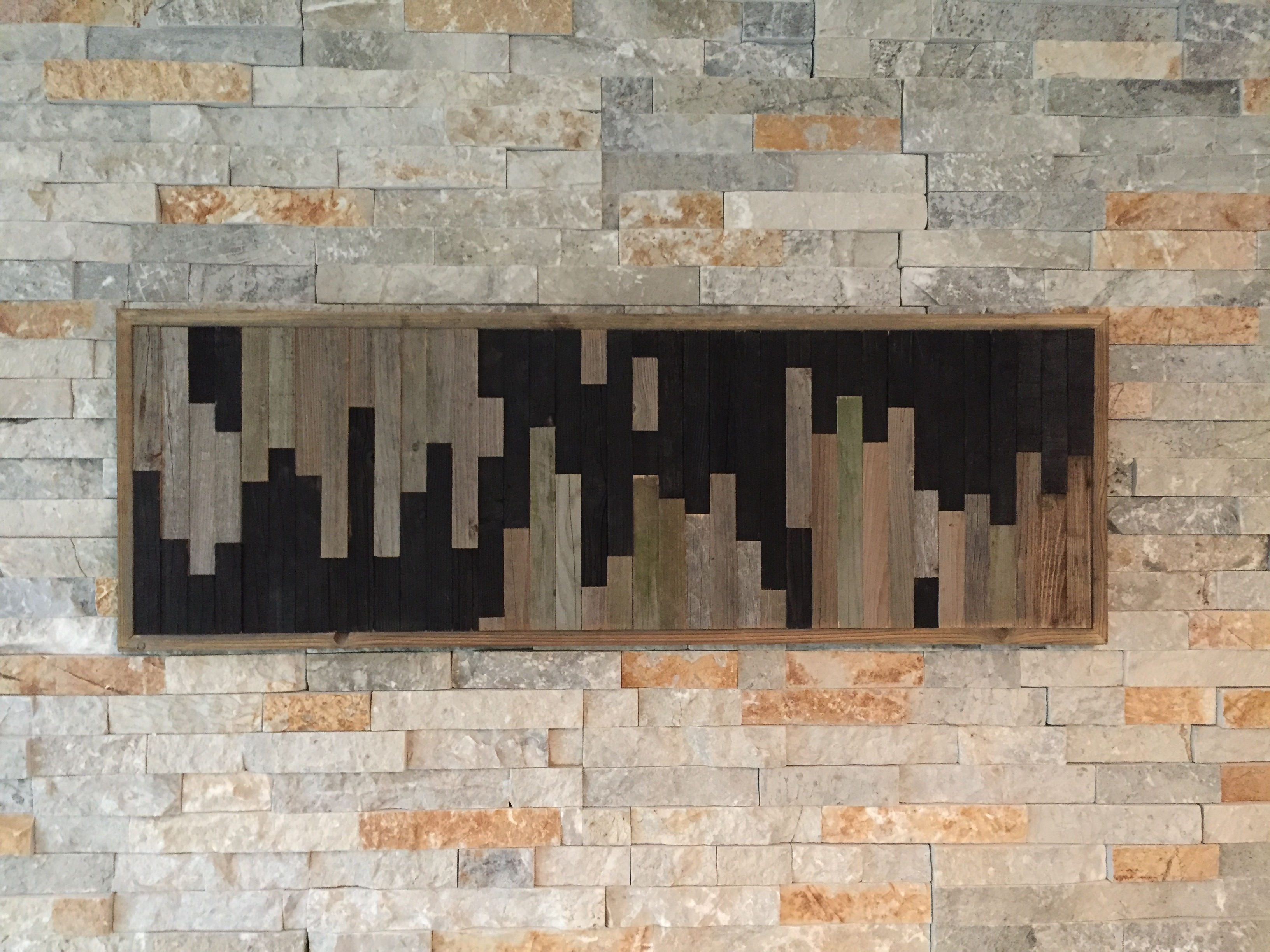 Rustic Modern Wood Art