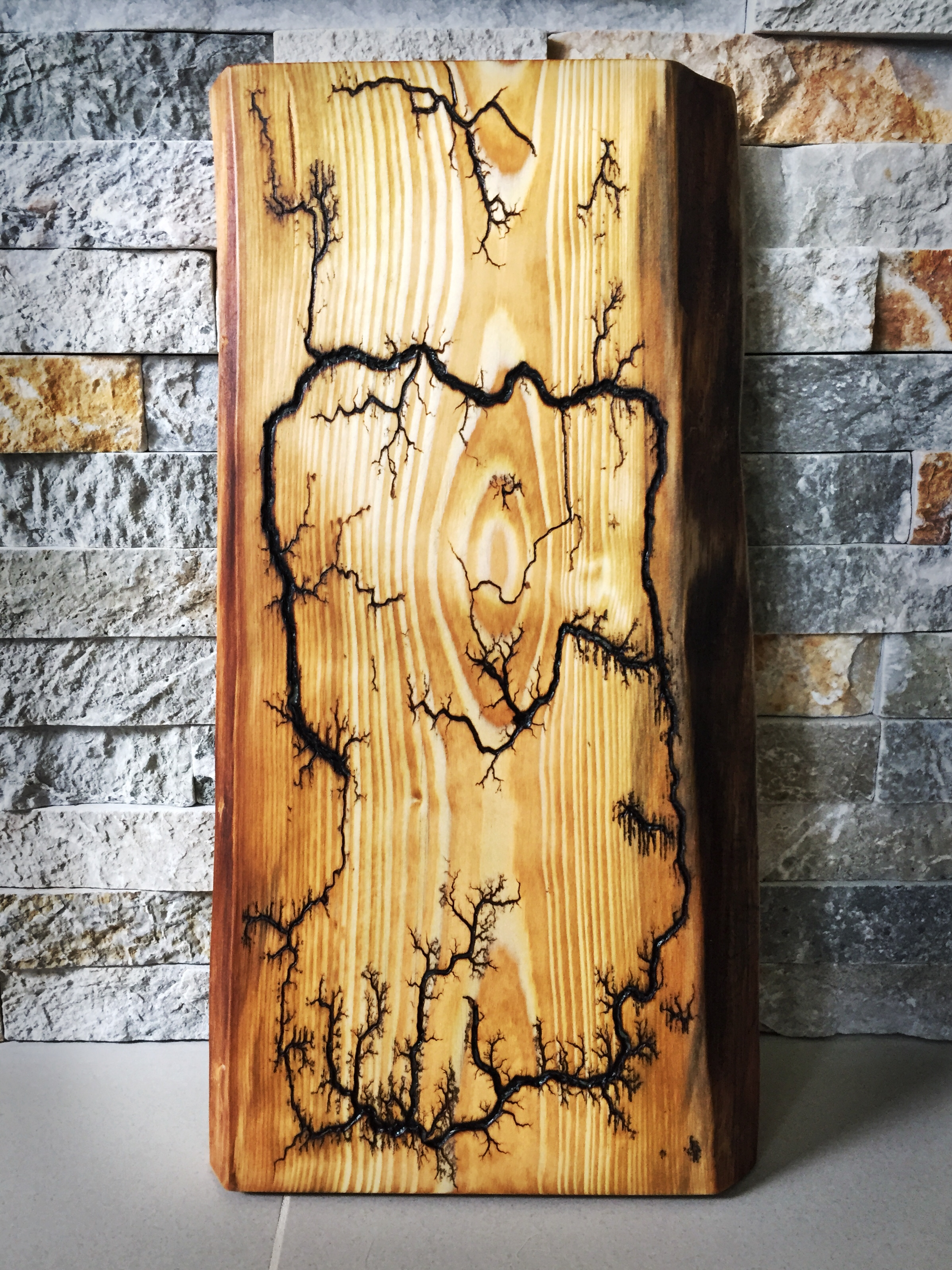 Pine Wood Charcuterie Board